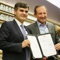 Paulo Skaf e Sergio Segovia inauguram escritório da Apex-Brasil na Fiesp