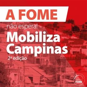 Campanha FEAC - Mobiliza Campinas 2021 - A fome não Espera