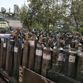 Senai-SP coordena operação inédita para mobilizar as indústrias e conseguir cilindros de oxigênio para serviços de saúde