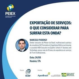 Convite Capacitação Coletiva PEIEX Campinas - 24/08